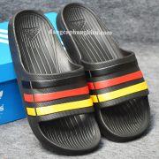 Dép Adidas Duramo chính hãng đen vàng đỏ