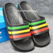 Dép Adidas Duramo chính hãng đen xanh vàng đỏ