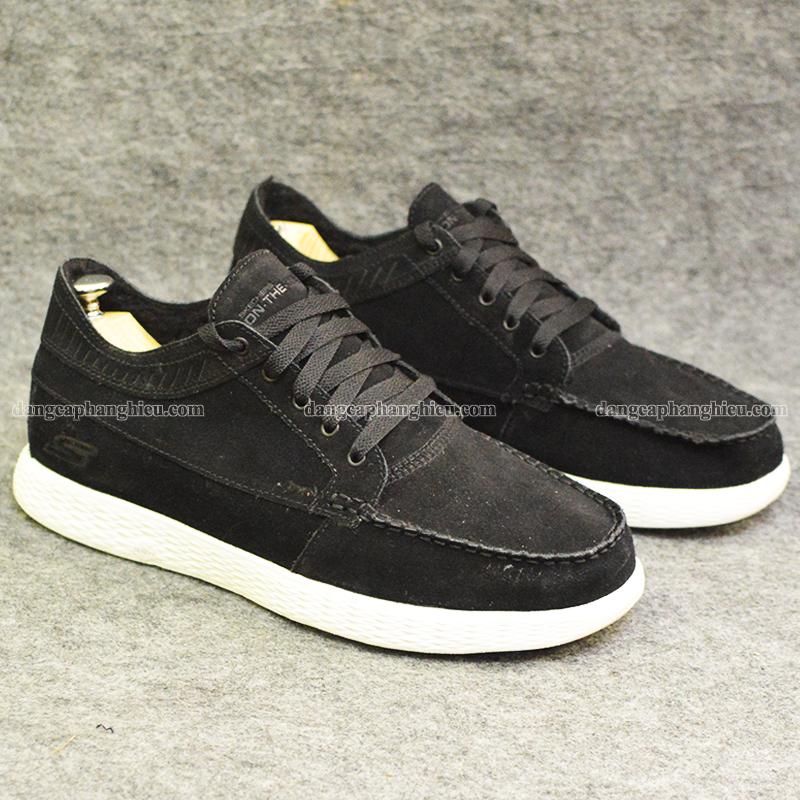 Giày Skechers chính hãng màu đen giá thơm 2018