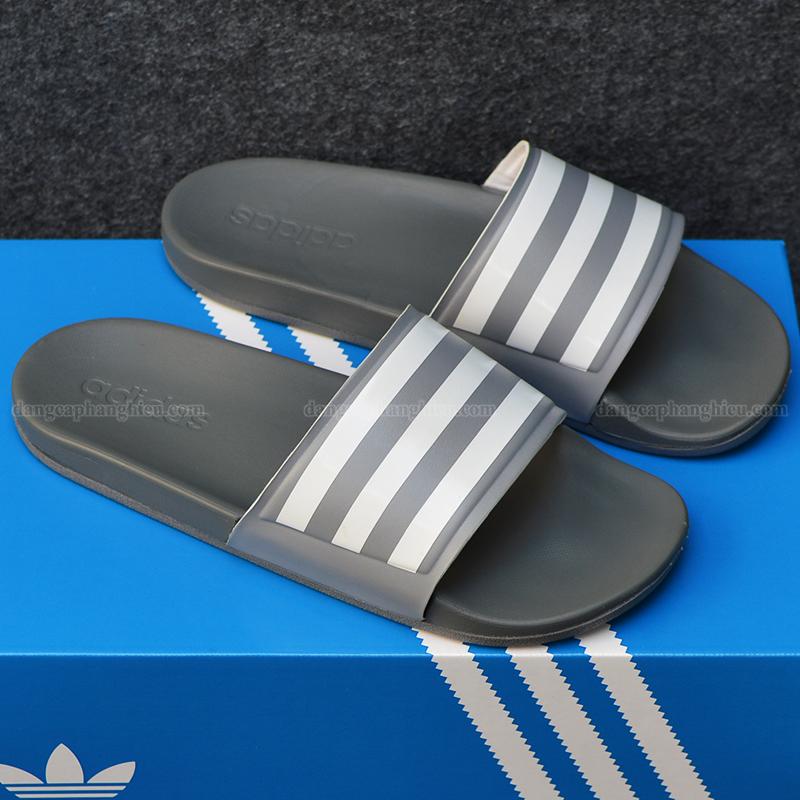 015352 Adidas Cloudfoam Sample Xám sọc trắng 1