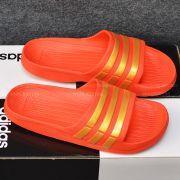 Adidas Duramo màu đỏ sọc vàng đồng