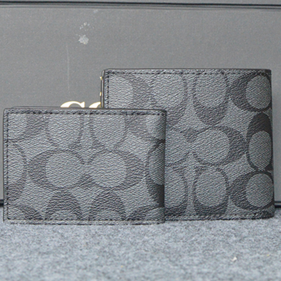 02605000 Coach Compact ID Wallet F74993 7