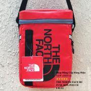 Túi đeo chéo The North Face BC Fuse Box Pounch màu đỏ logo đen
