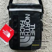 Túi đeo chéo The North Face BC Fuse Box Pounch màu xanh đen logo xám