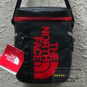 Túi đeo chéo The North Face BC Fuse Box Pounch màu đen logo đỏ