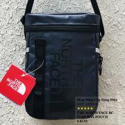 Túi đeo chéo The North Face BC Fuse Box Pounch màu xanh đen logo đen