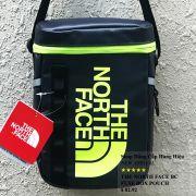 Túi đeo chéo The North Face BC Fuse Box Pounch màu xanh đen logo xanh chuối