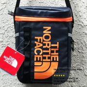 Túi đeo chéo The North Face BC Fuse Box Pounch màu xanh đen logo cam