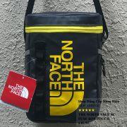 Túi đeo chéo The North Face BC Fuse Box Pounch màu xanh đen logo vàng