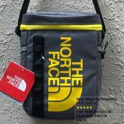 Túi đeo chéo The North Face BC Fuse Box Pounch màu xám logo vàng