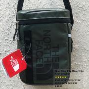 Túi đeo chéo The North Face BC Fuse Box Pounch màu xanh rêu logo đen