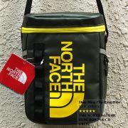 Túi đeo chéo The North Face BC Fuse Box Pounch màu xanh rêu logo vàng