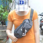 Túi đeo chéo Adidas Parkhood màu xám