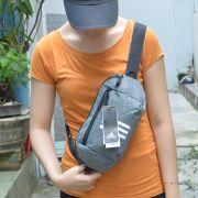 Túi đeo chéo Adidas Parkhood màu xám trắng