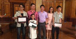 Nhiệt liệt chúc mừng và biểu dương các em học sinh và thầy giáo đã đạt giải thưởng festival piano toàn quốc CEG 2017