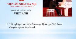 Giẩng viên Tạ Việt Anh