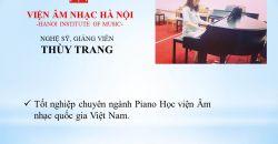 Giảng  viên Lê Thùy Trang