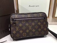 Túi Xách Louis Vuitton Canvas Kasai Clutch Man's Bag-M42838-TXLV083