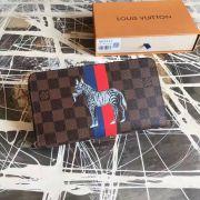Ví Nữ Louis Vuitton Damier Ebene Zippy Organizer-N63342-VNLV136