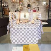 Túi Xách Louis Vuitton Damier Neverfull MM-N41361-TXLV024