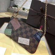 Túi Xách Louis Vuitton Damier Pochette Milla-N63078-TXLV018