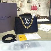 Túi Xách Louis Vuitton Taurillon Capucines Mini Chain-M42935-TXLV029