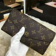 Ví Nữ Louis Vuitton Monogram Canvas Sarah Wallet-M60531-VNLV131