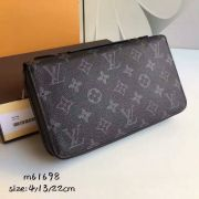 Ví Nữ Louis Vuitton Monogram Eclipse Zippy XL Wallet-M61698-VNLV112