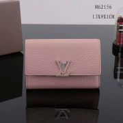 Ví Nữ Louis Vuitton Taurillon Leather Capucine Wallet-M62156-VNLV105