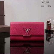 Ví Nữ Louis Vuitton Taurillon Leather Capucine Wallet-M62368-VNLV104