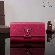 Ví Nữ Louis Vuitton Taurillon Leather Capucine Wallet-M62368-VNLV104