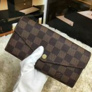 Ví Nữ Louis Vuitton Damier Canvas Sarah Wallet-N63209-VNLV138