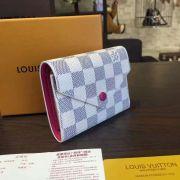 Ví Nữ Louis Vuitton Damier Azur Victorine Wallet-N58114-VNLV139