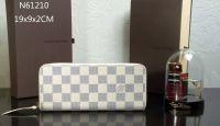 Ví Nữ Louis Vuitton Damier Azur Clemence Wallet-N61210-VNLV142