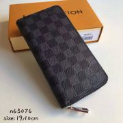 Ví Nữ Louis Vuitton Dameier Graphite Zippy Wallet N63076-VNLV144
