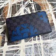 Ví Nữ Louis Vuitton Damier Graphite Zippy Organizer-N41683-VNLV151
