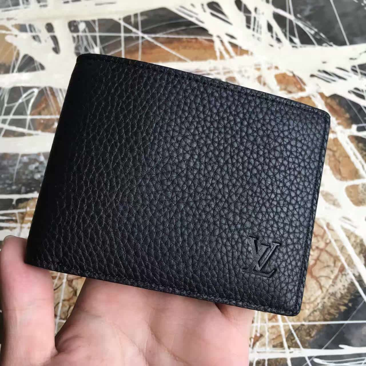 Ví Nam Louis Vuitton Taurillon Leather Multiple Wallet-M58189-VNLV152