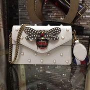 Túi xách Gucci Broadway Leather Clutch-453778-TXGC007