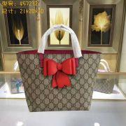 Túi Xách Gucci Children's GG Supreme Bow Tote-457232-TXGC023