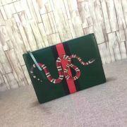 Gucci Snake Print Leather Handbag-249016-TXGC0026