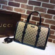 Gucci signature Top Handle bag-387600-TXGC027