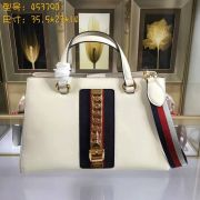 Gucci Sylvie leather top handle bag-453790-TXGC033