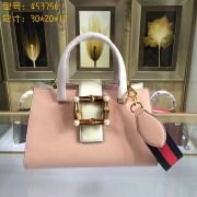 Gucci Nymphea leather top handle bag-453756-TXGC0035