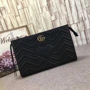Gucci GG Marmont Matlase clutch-448450-TXGC036