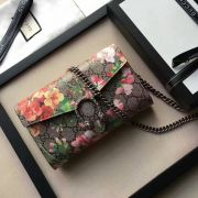 Gucci Dionysus Blooms print mini chain bag-401231-TXGC037