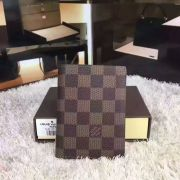 Louis vuitton damier ebene canvas james wallet-N63023-VNLV161