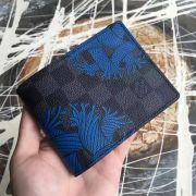 Louis vuitton Damier Graphite Slender wallet-N41679-VNLV167