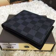 Louis vuitton damier graphite florin wallet-N63074-VNLV170