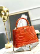 Túi xách Louis Vuitton Capucines da cá sấu siêu cấp VIP - TXLV289