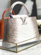 Túi xách Louis Vuitton Capucines da cá sấu siêu cấp VIP - TXLV290